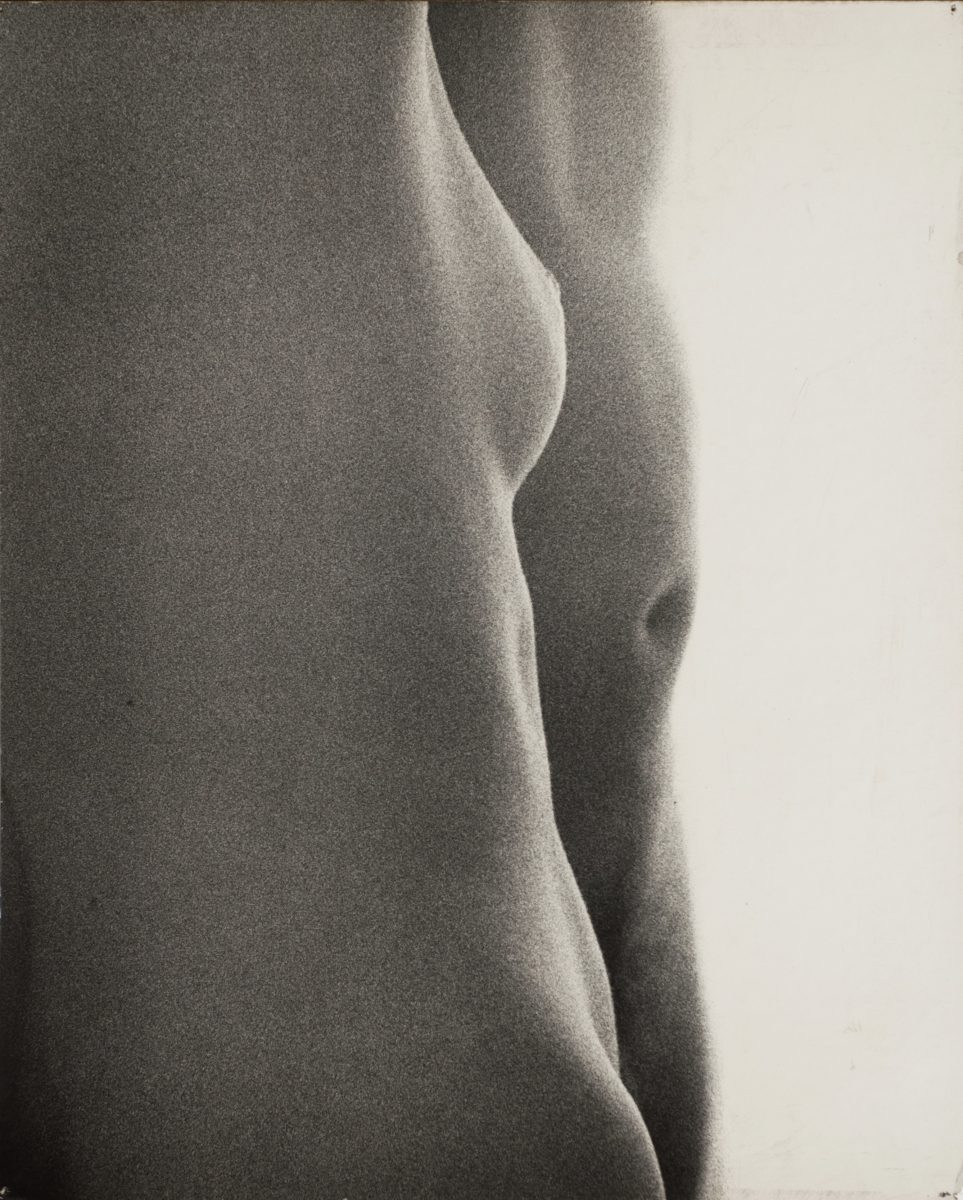 Natalia LL, Intimate Photography, 1971, 60 on 50 cm, original vintage print on board, courtesy lokal 30, Warsaw