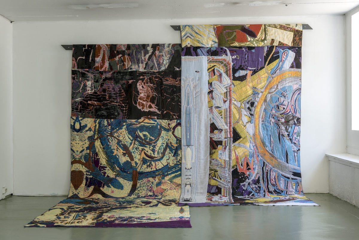 Gino Saccone Neolithic Grafitti 2016, Courtesy Galerie Mieke van Schaijk