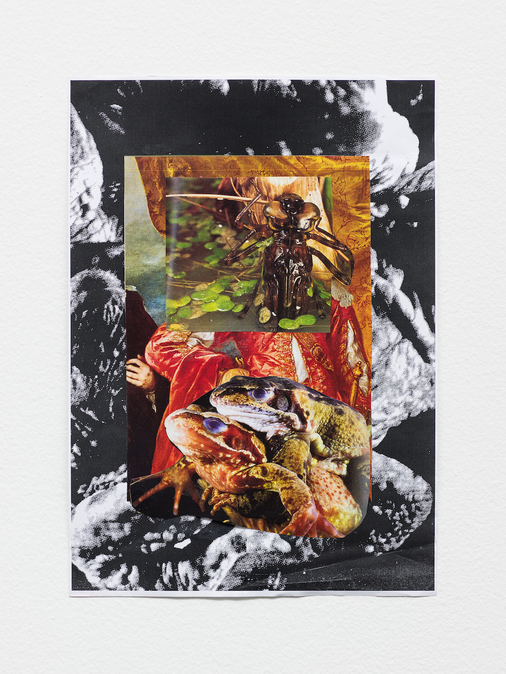 Marvin Gaye Chetwynd, Psychic Collage 11, 2017 with Galerie Gregor Steiger