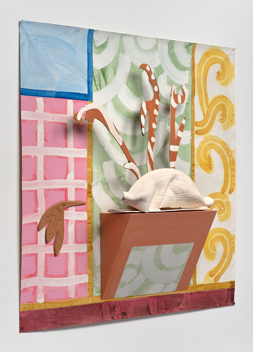 Betty Woodman, Parioli,  2014 with David Kordansky Gallery