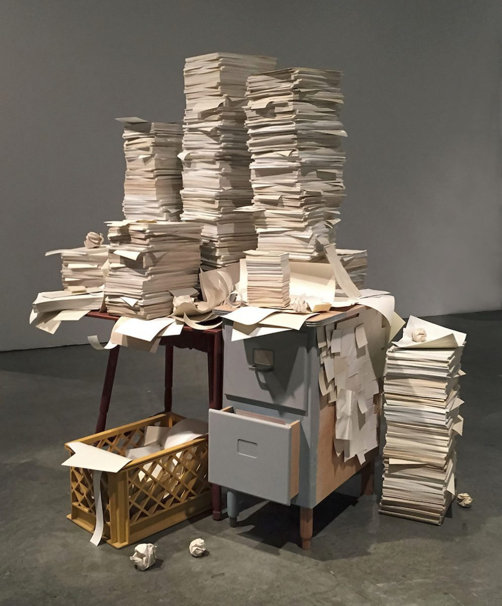 Jeff Colson, Stacks, 2017 with Denk