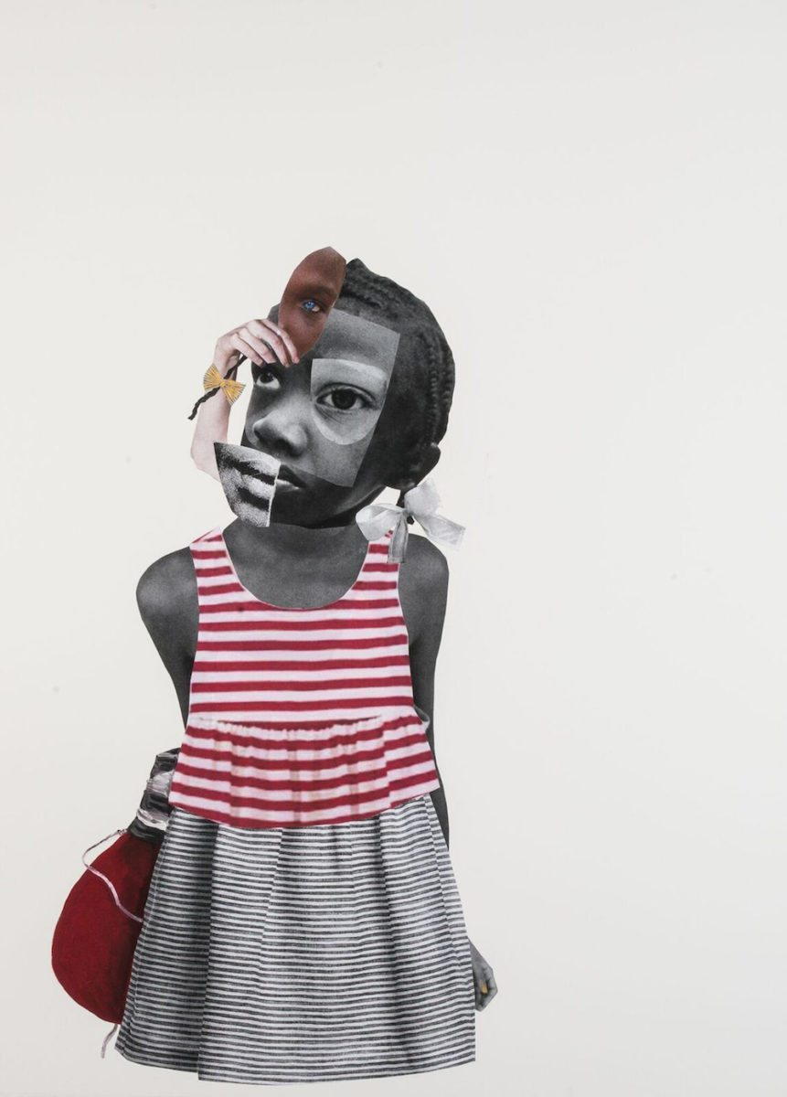 Deborah Roberts, Somebody's Champion, 2017 with Jenkins Johnson