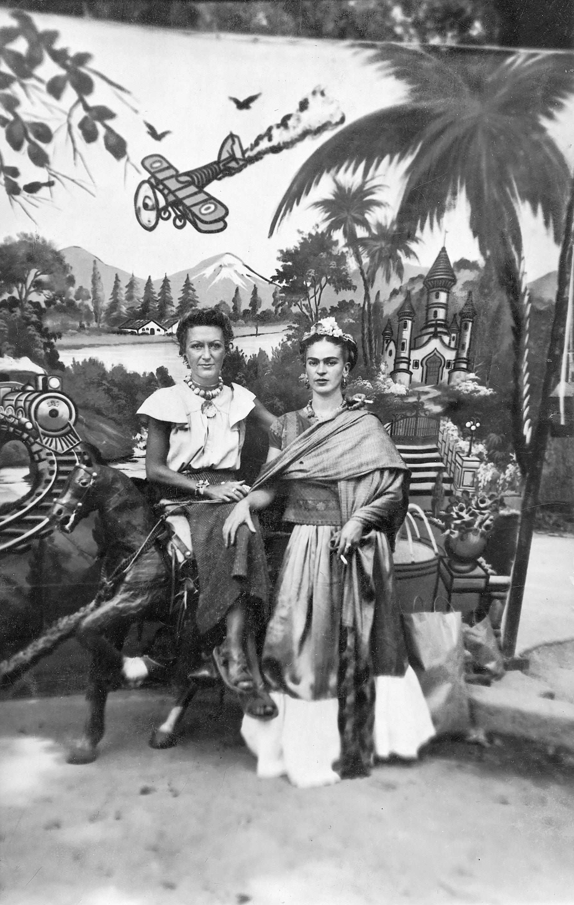 Frida Kahlo and Jacqueline Lamba, Patzquaro, Mexico, 1930