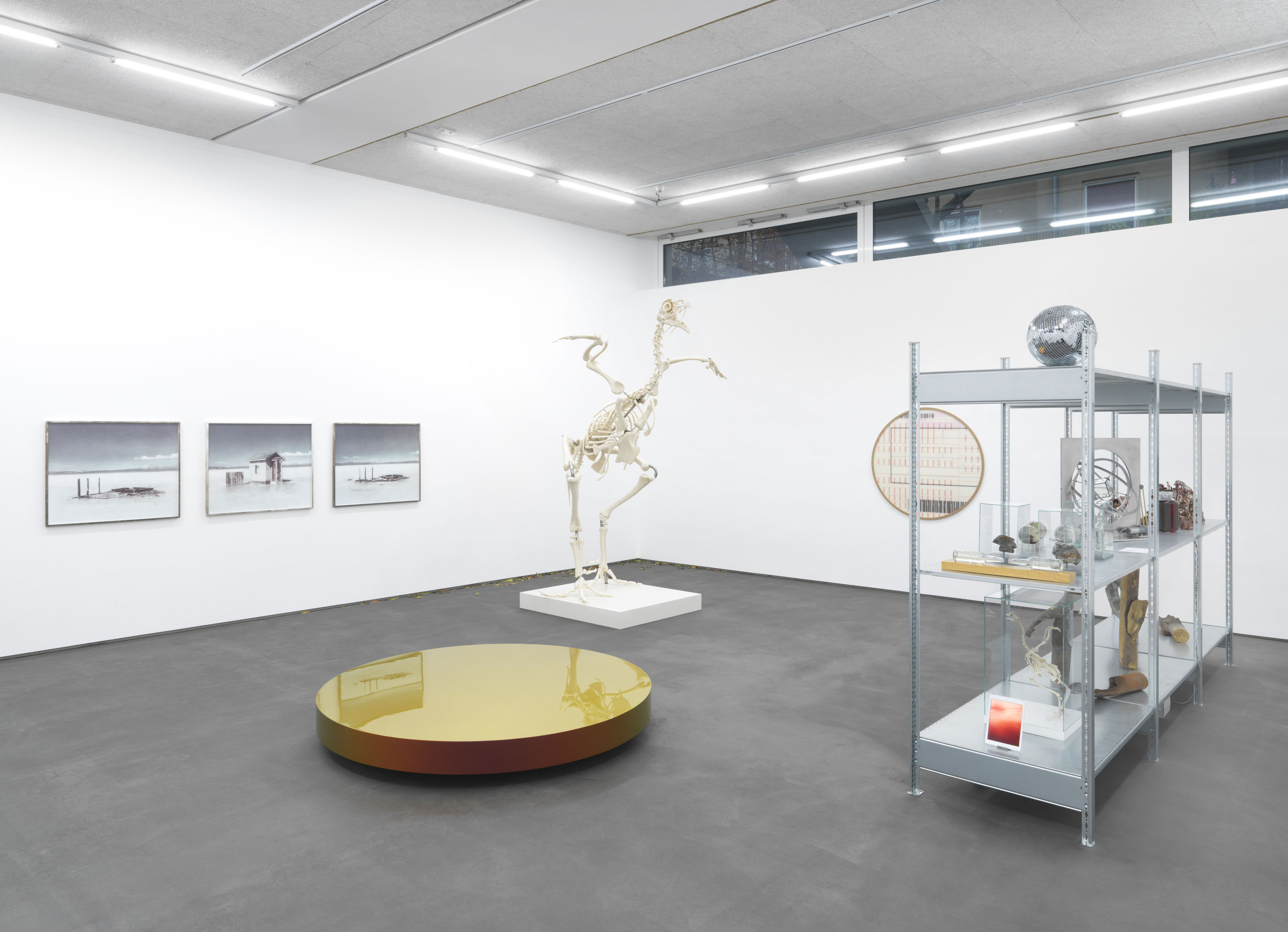 BEOBACHTUNG, 2018, Exhibition view DITTRICH & SCHLECHTRIEM, Berlin Image courtesy DITTRICH & SCHLECHTRIEM, Berlin.