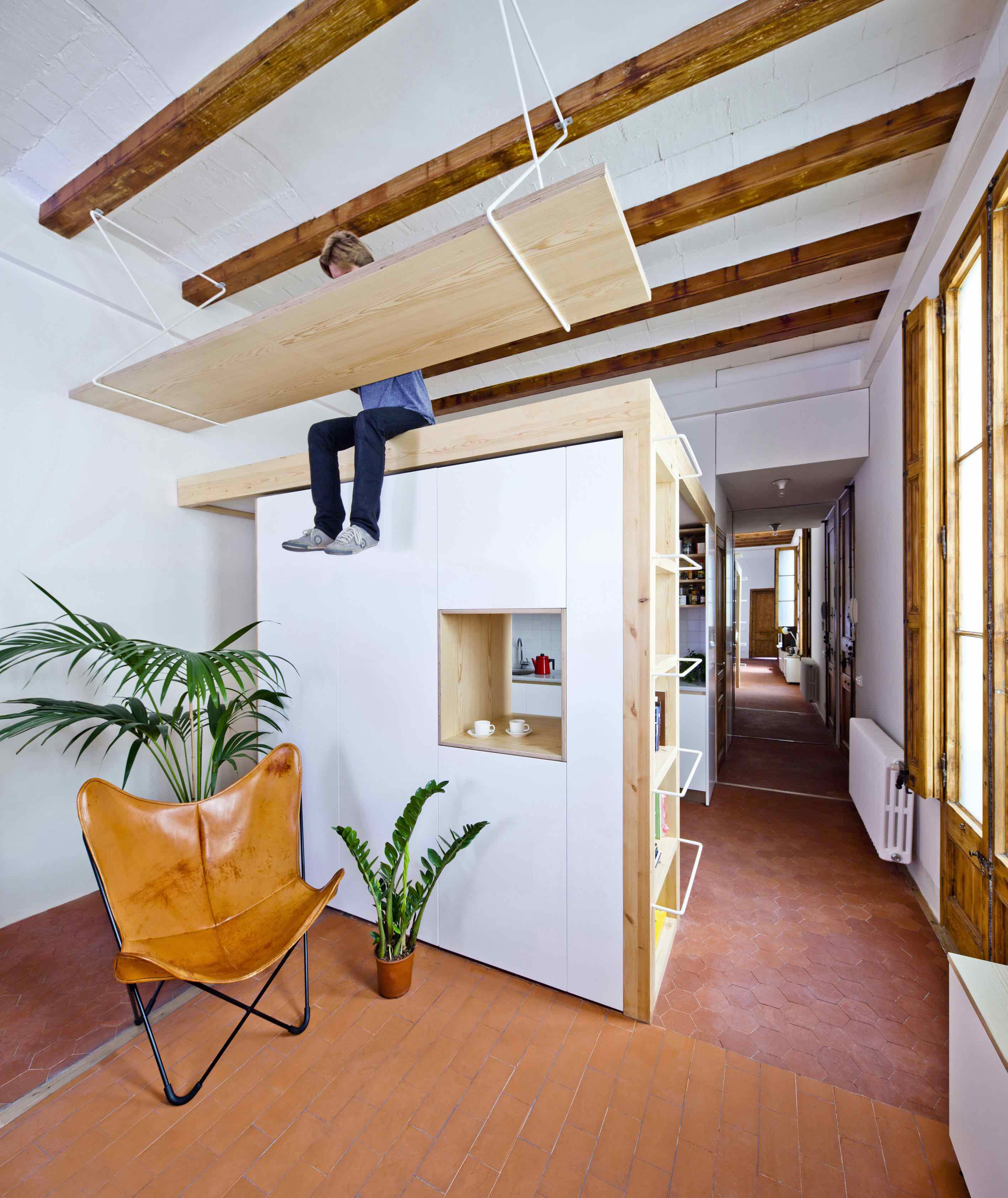 Gran Via Apartment, Barcelona, Spain, design: Anna & Eugeni Bach<br />Photo: Eugeni Bach Gran Via Apartment copy