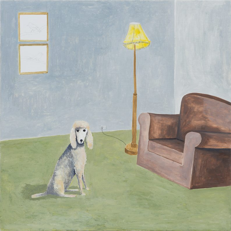 Room with Poodle, 2015