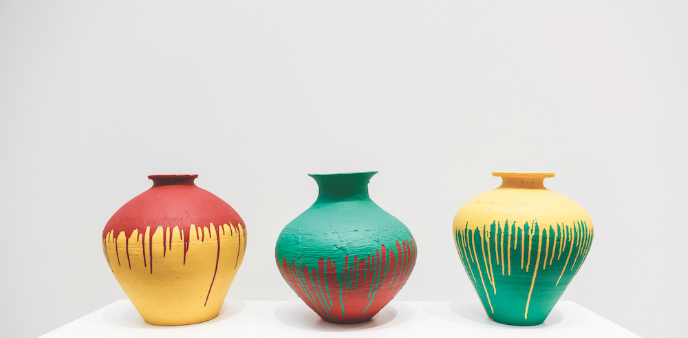 Ai Weiwei, Colored Vases, 2010 with Galleria Continua