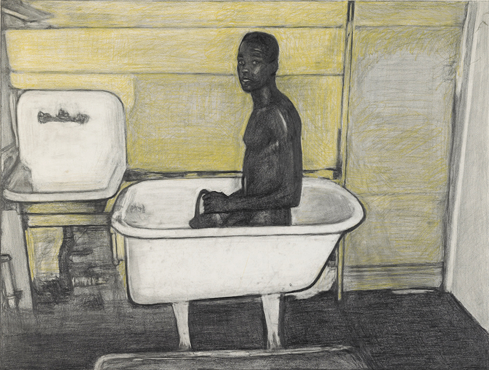 Stephen Hale, Patrick in Bathtub, 1995