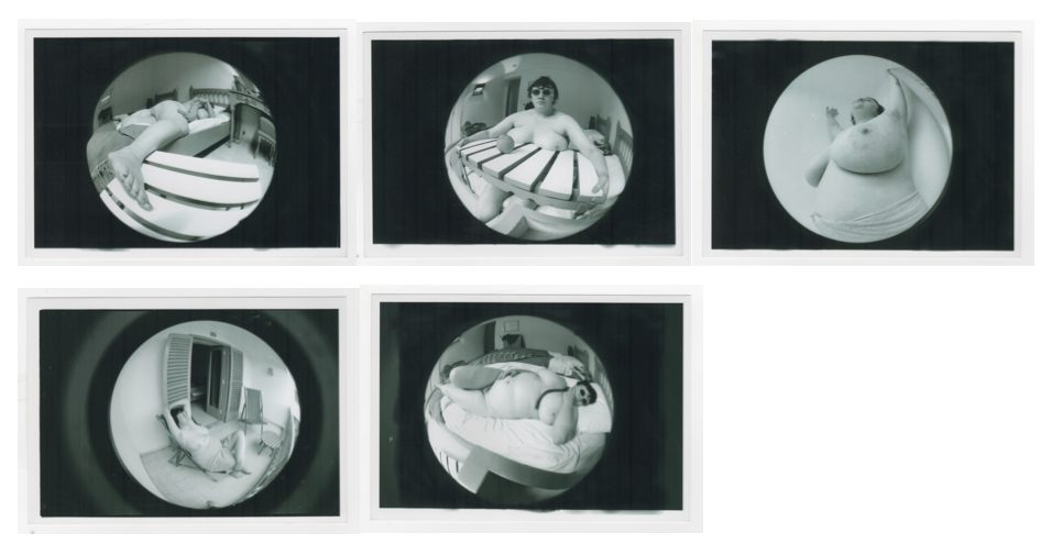 Jo Spence, Fat Project, 1978 -1979 Collaboration with Terry Dennett. Copyright the Artist. Courtesy of Richard Saltoun Gallery