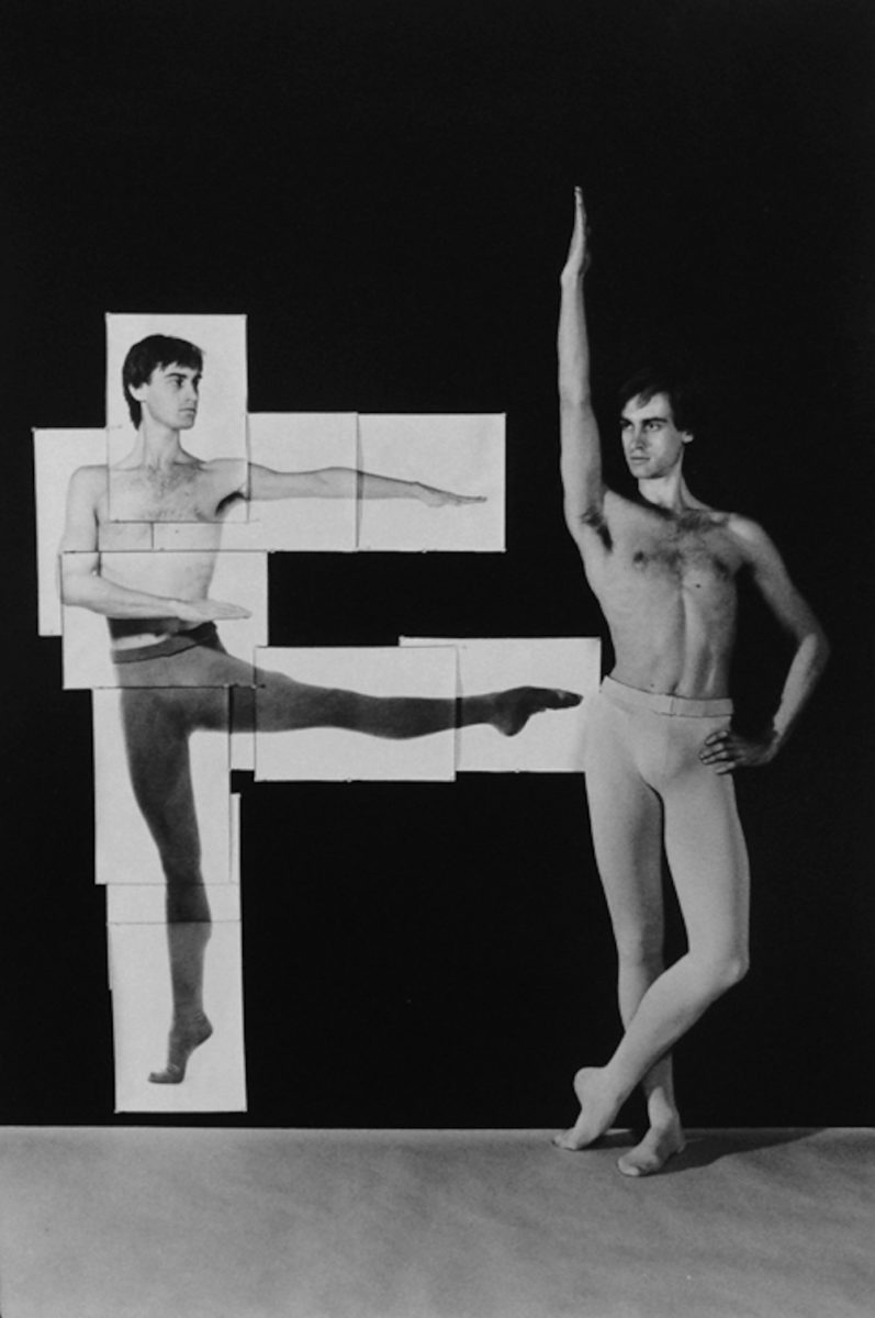 John  Lesnick, Dancer Posed 31, 1980
