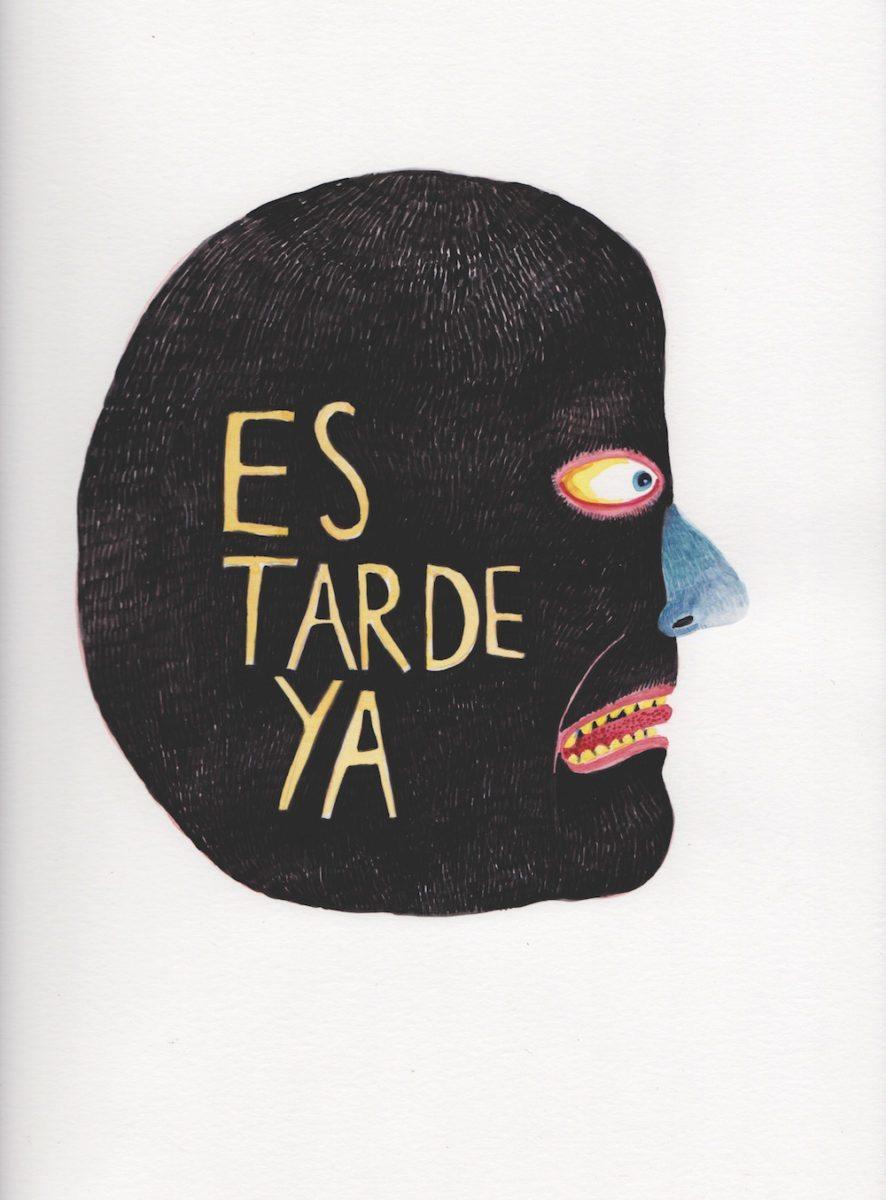 Kevin Simón Mancera, Es Tarde Ya, 2017 with Michael Sturm at Zona Maco