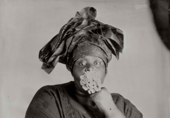 Khadija Saye, Peitaw, 2017, from the series Dwelling: in this space we breathe