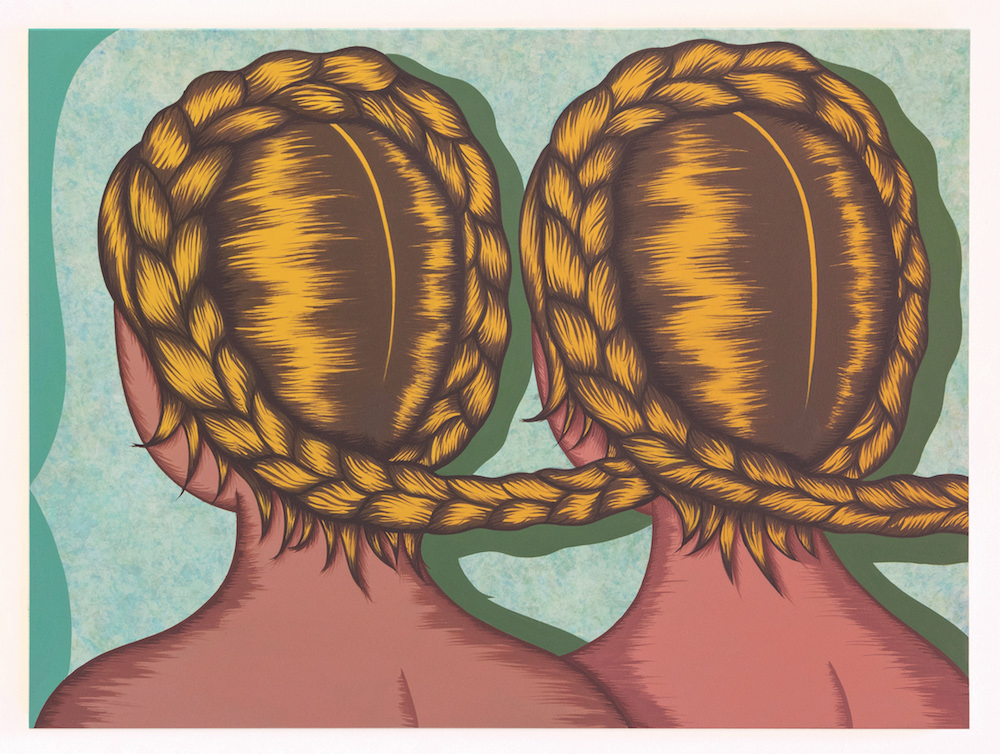 Julie Curtiss, Twins, 2017 with The Hole
