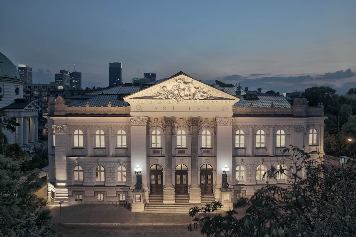 The Zacheta - National Gallery of Art building. Photograph by Piotr Bednarski. Courtesy of Zacheta - National Gallery of Art