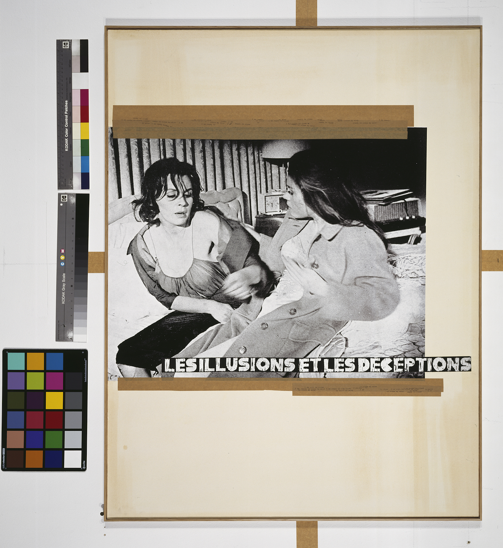 Les illusions et les deceptions, 1980. Courtesy Sammlung Falckenberg © Astrid Klein