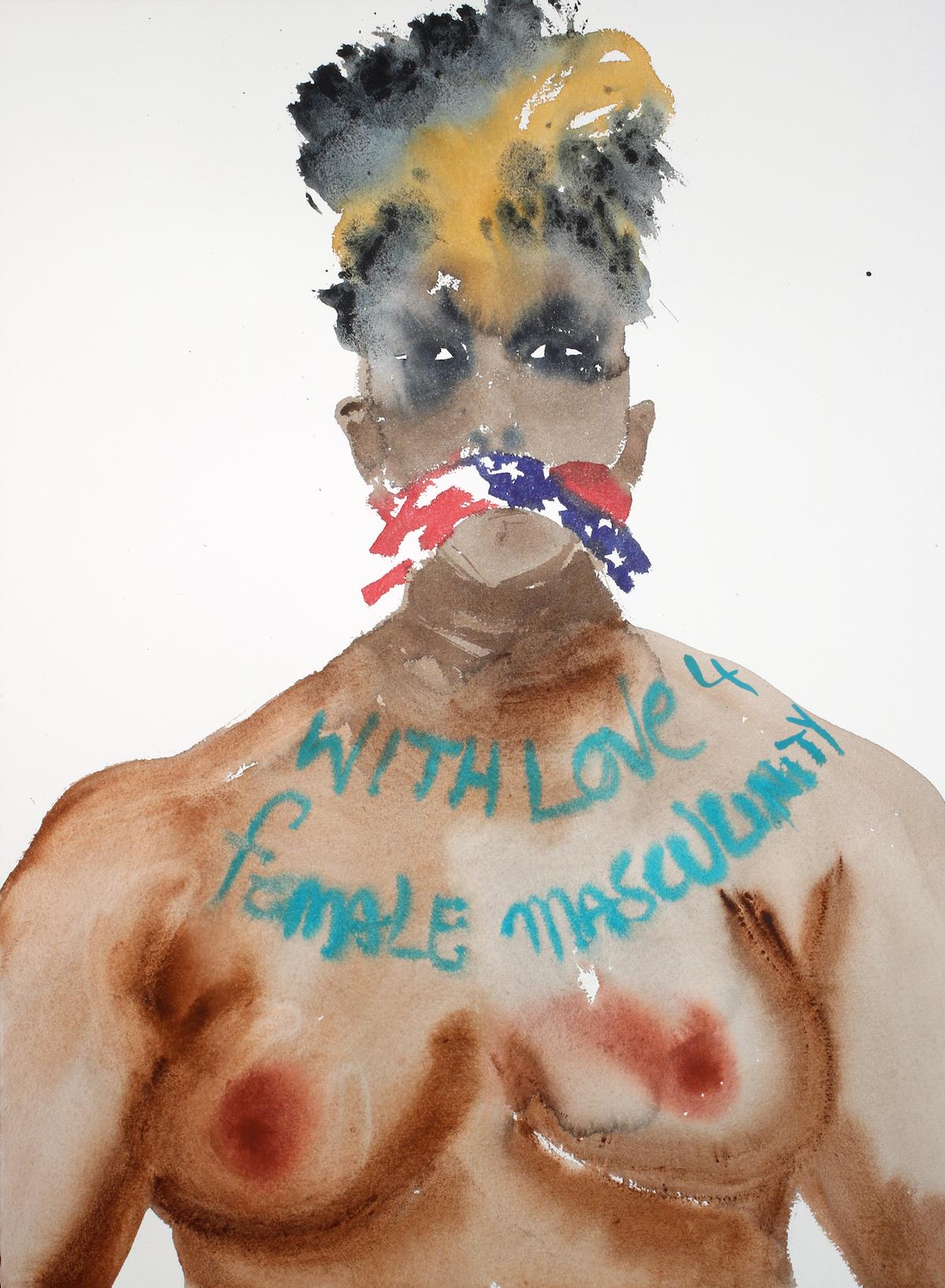 With Love For Female Masculinity Nadine Faraj (2016) Courtesy of Anna Zorina Gallery, New York City