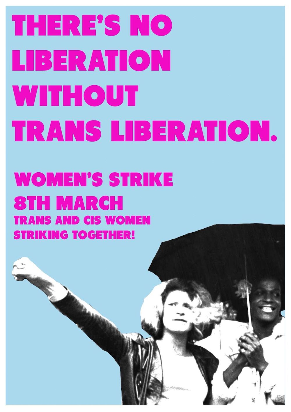 Poster for the Women's Strike, 2018