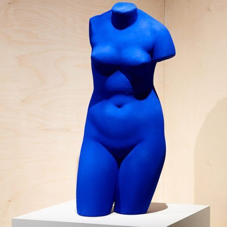 Yves Klein, Blue Venus (S41), 1962 (conceived)/ 1982 (cast posthumously) © Yves Klein Estate. ADAGP PARIS/ DACS, London 2018