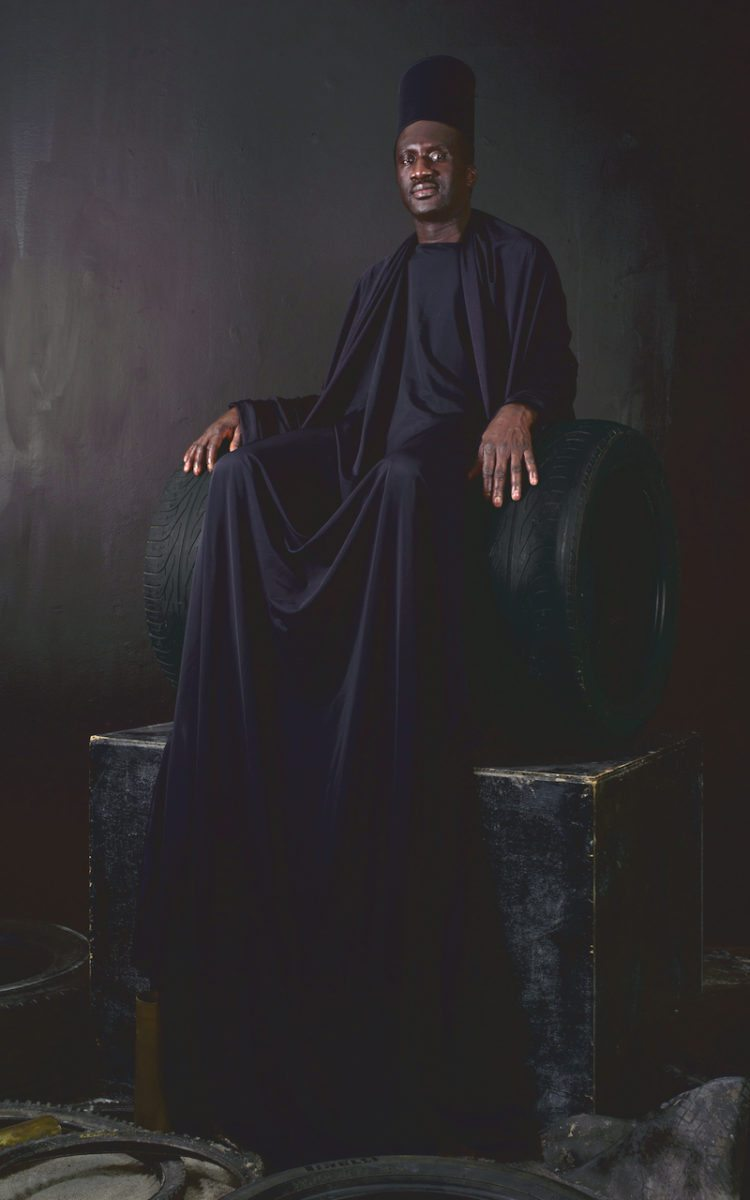 Maimouna Guerresi, Throne in Black, 2016