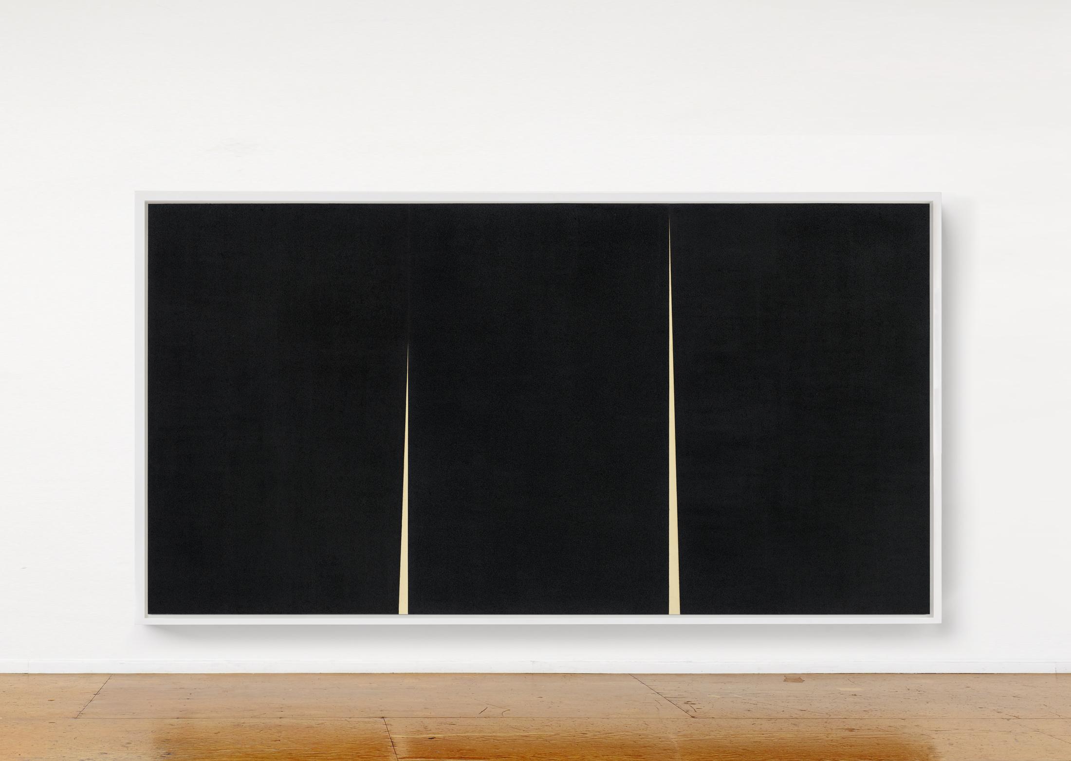 Richard Serra Double Rift IV, 2016. © Richard Serra / Courtesy Galerie Lelong & Co.