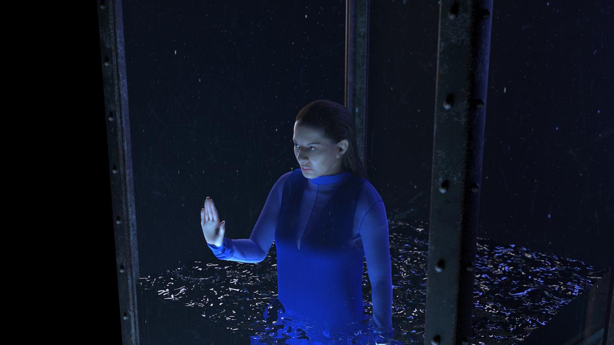 Marina Abramović, still from Rising, 2017, courtesy of Acute Art