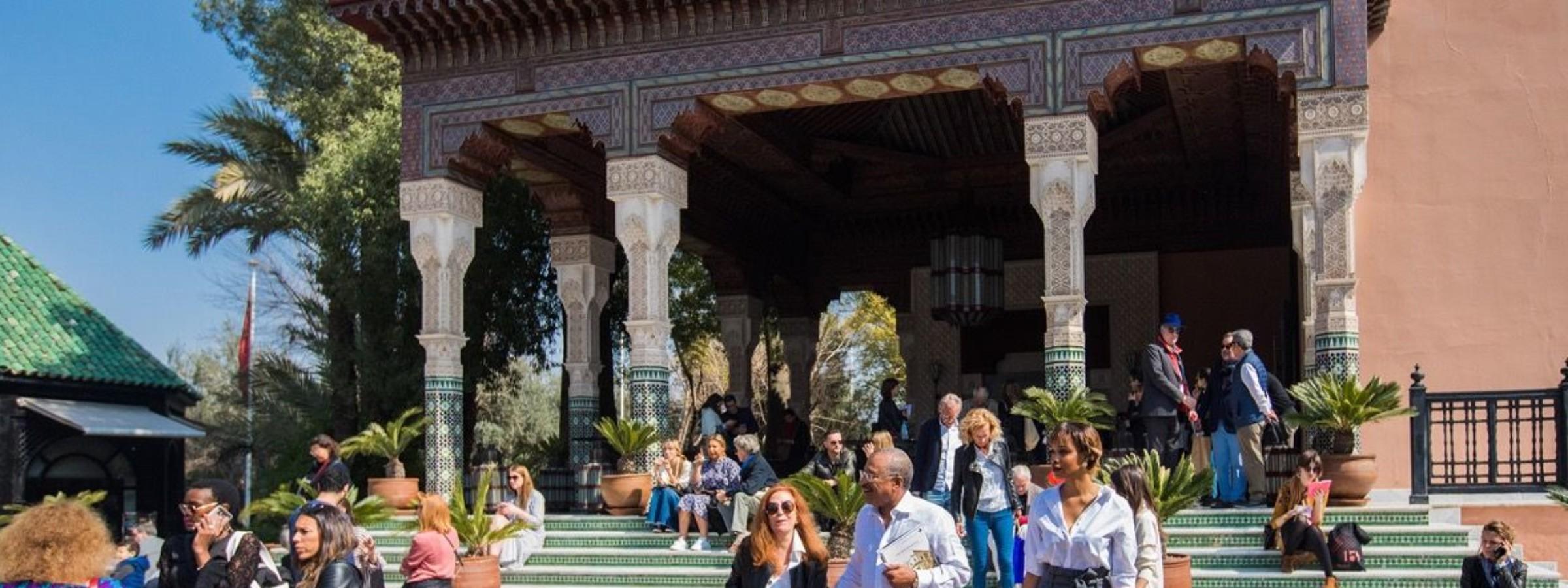 Photo by Adnane Zemmama. Courtesy of 1-54, Marrakech.