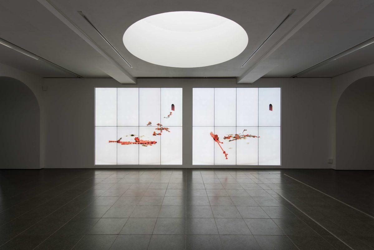 Ian Cheng, Installation view, Serpentine Gallery, London © 2018 Hugo Glendinning