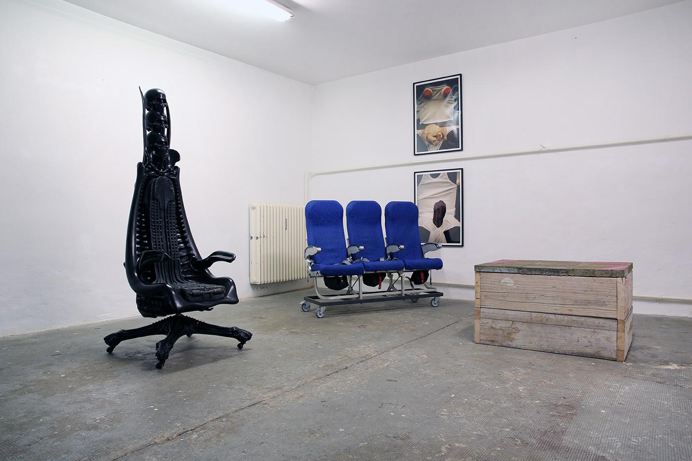 Installation View, Sitting Bone at Mavra