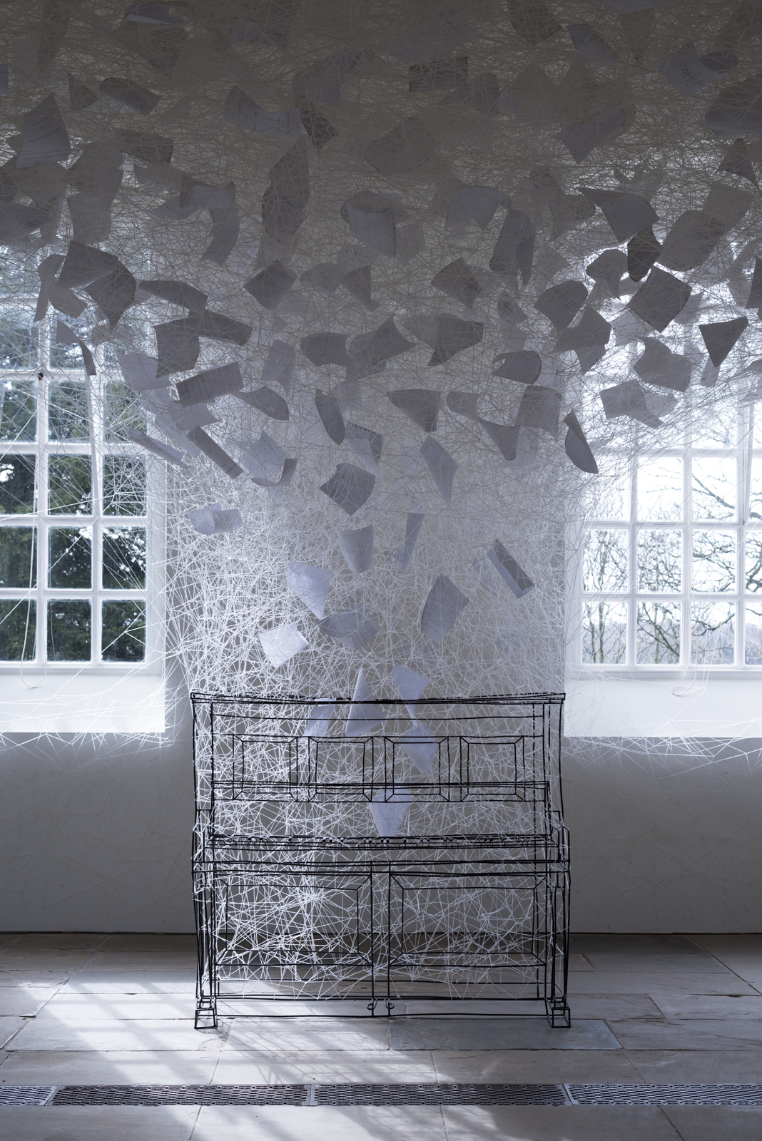 Chiharu Shiota, Beyond Time, 2018. Copyright VG Bild-Kunst, Bonn, 2018 and the artist.