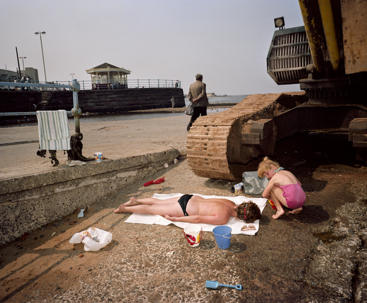 Martin Parr, GB. England. New Brighton. From 'The Last Resort'. 1983-85.