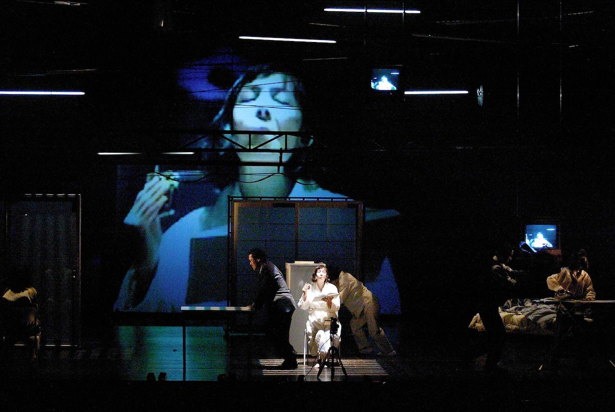 The Elephant Vanishes, taken from Haruki Murakami's collection of short stories of the same name. At the Setagaya Public Theatre, Tokyo, May 2003