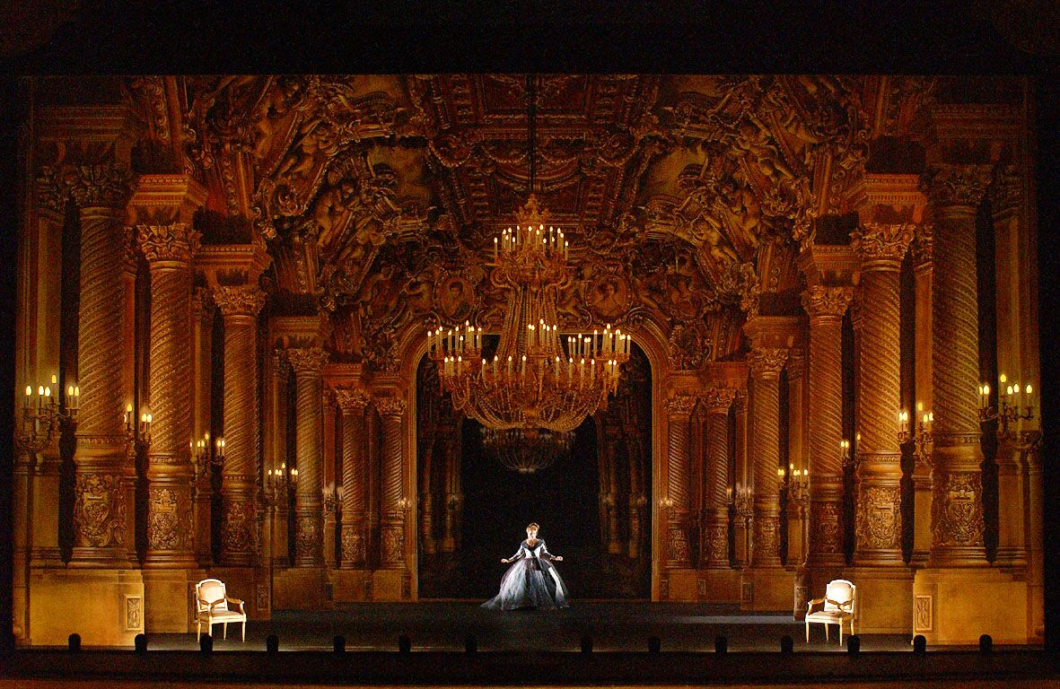 Capriccio by Richard Strauss, The Paris Opera Garnier.