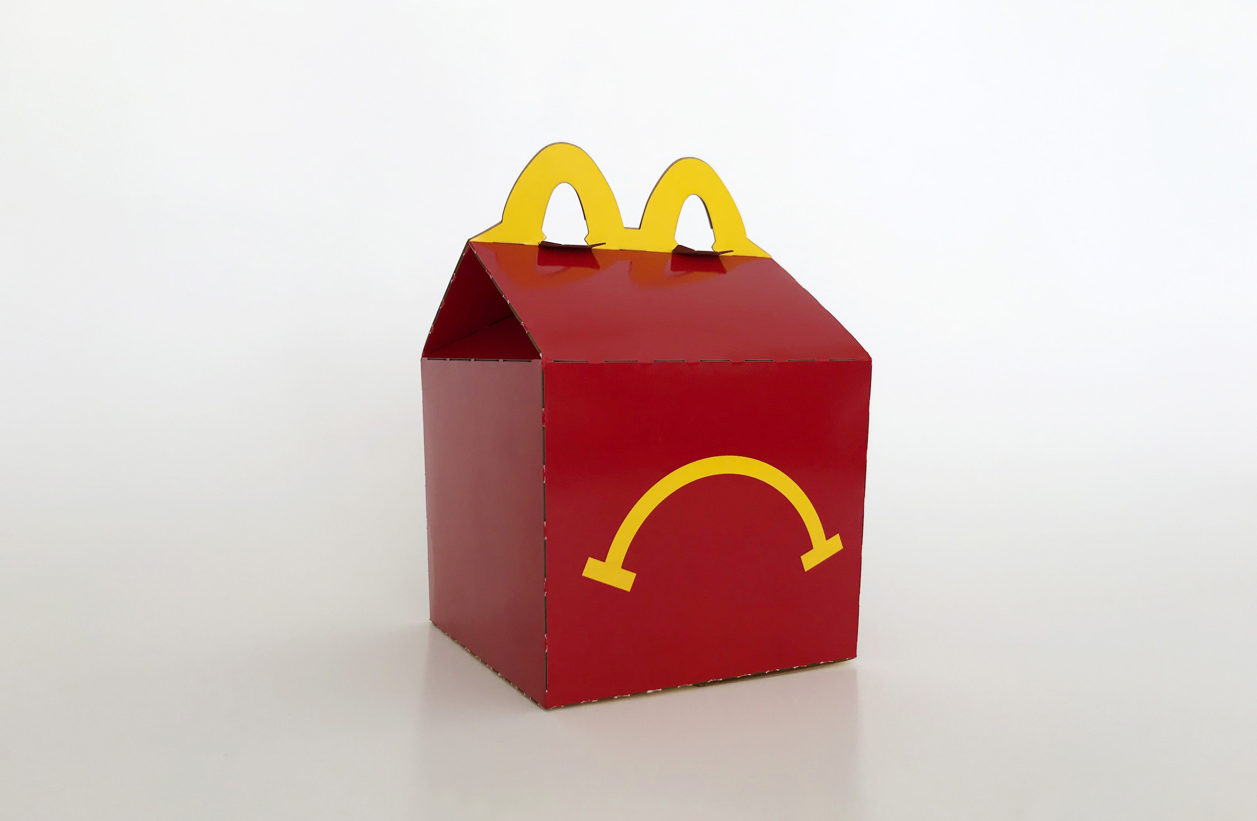 Unhappy Meal, Image courtesy of the artist.