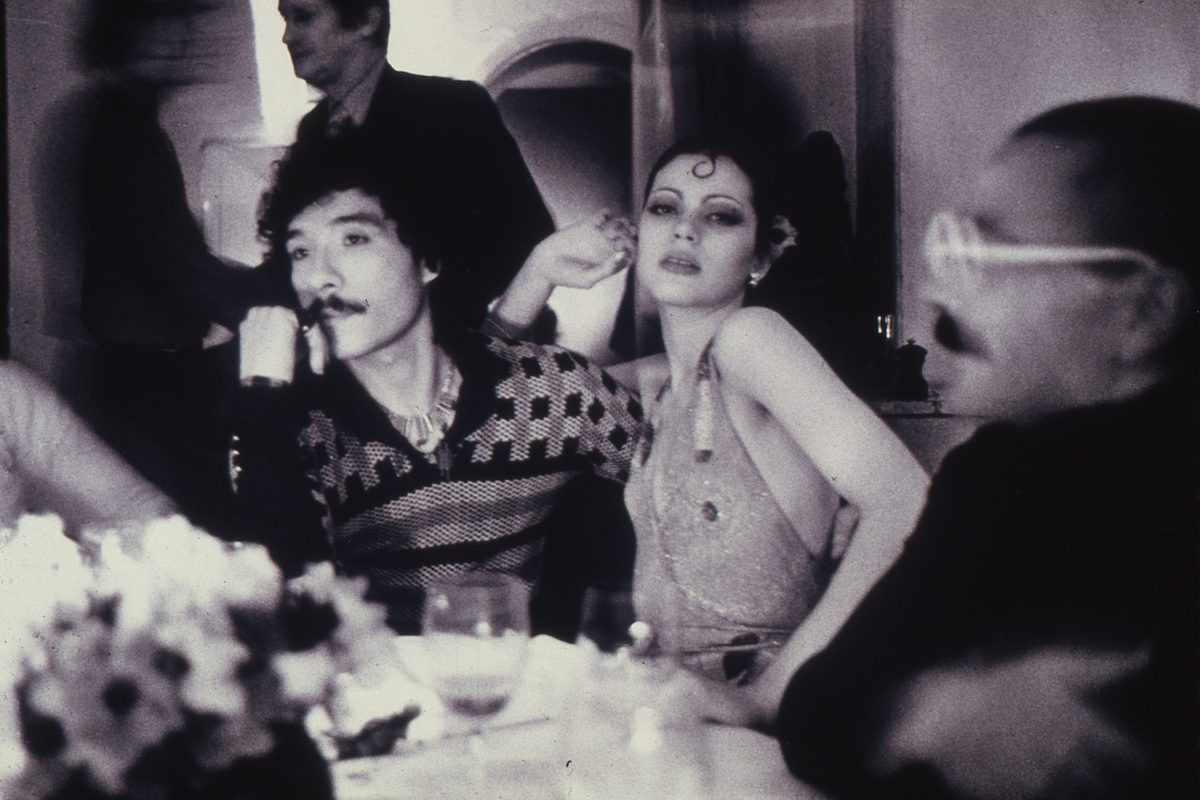 Antonio Lopez, Coraly Betancourt and Alex de IIanos, Club Sept, Paris, 1973