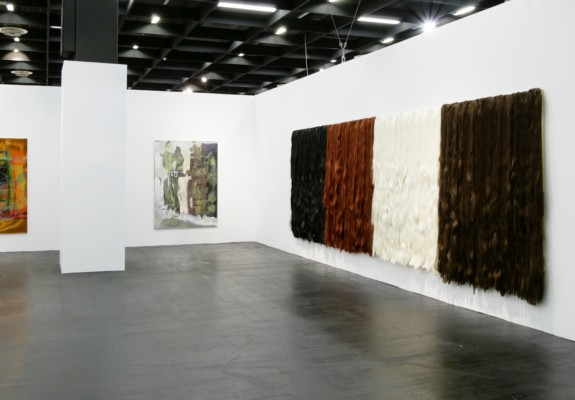 Neon Parc's booth at Art Cologne 2018, courtesy the gallery