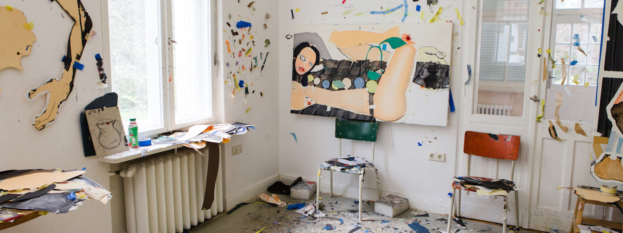 Magnus Plessen Studio Visit Berlin Elephant Magazine