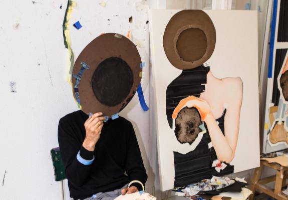 Magnus Plessen Kristin Kraus Berlin Elephant Magazine Studio Visit Painter