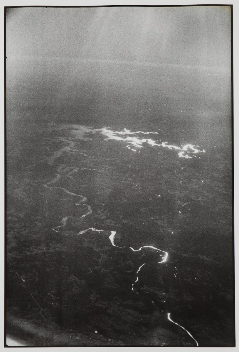 Zoe Leonard, Untitled Aerial [Shiny River no.2], 1988 - 2008 with Galleria Raffaella Cortese, Milan