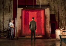 RED by Logan, Writer - John Logan, Director - Michael Grandage, Designer - Christopher Oram, Wyndhams Theatre, London, UK, Credit: Johan Persson
