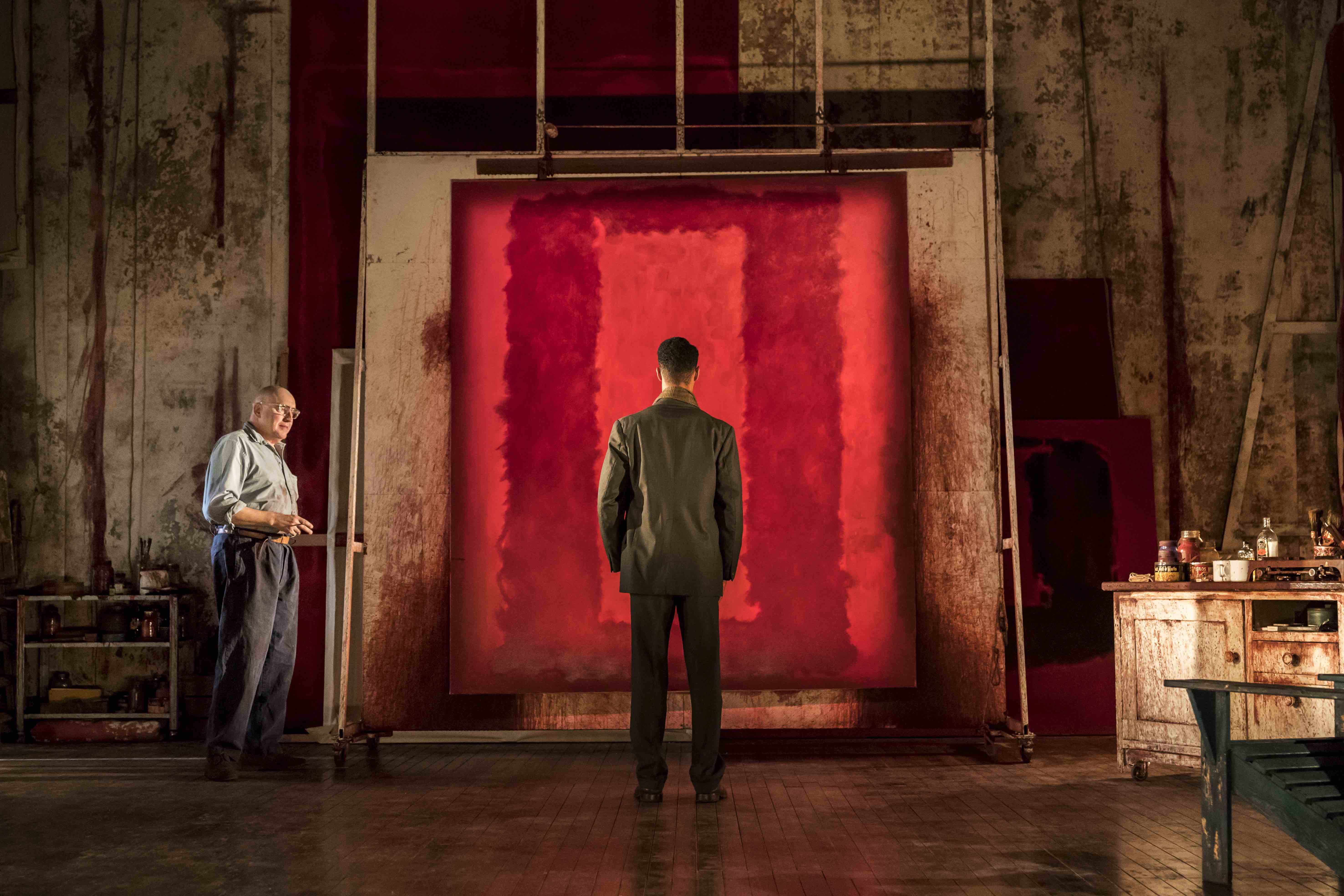 Red, Wyndhams Theatre, London, UK, photo: Johan Persson
