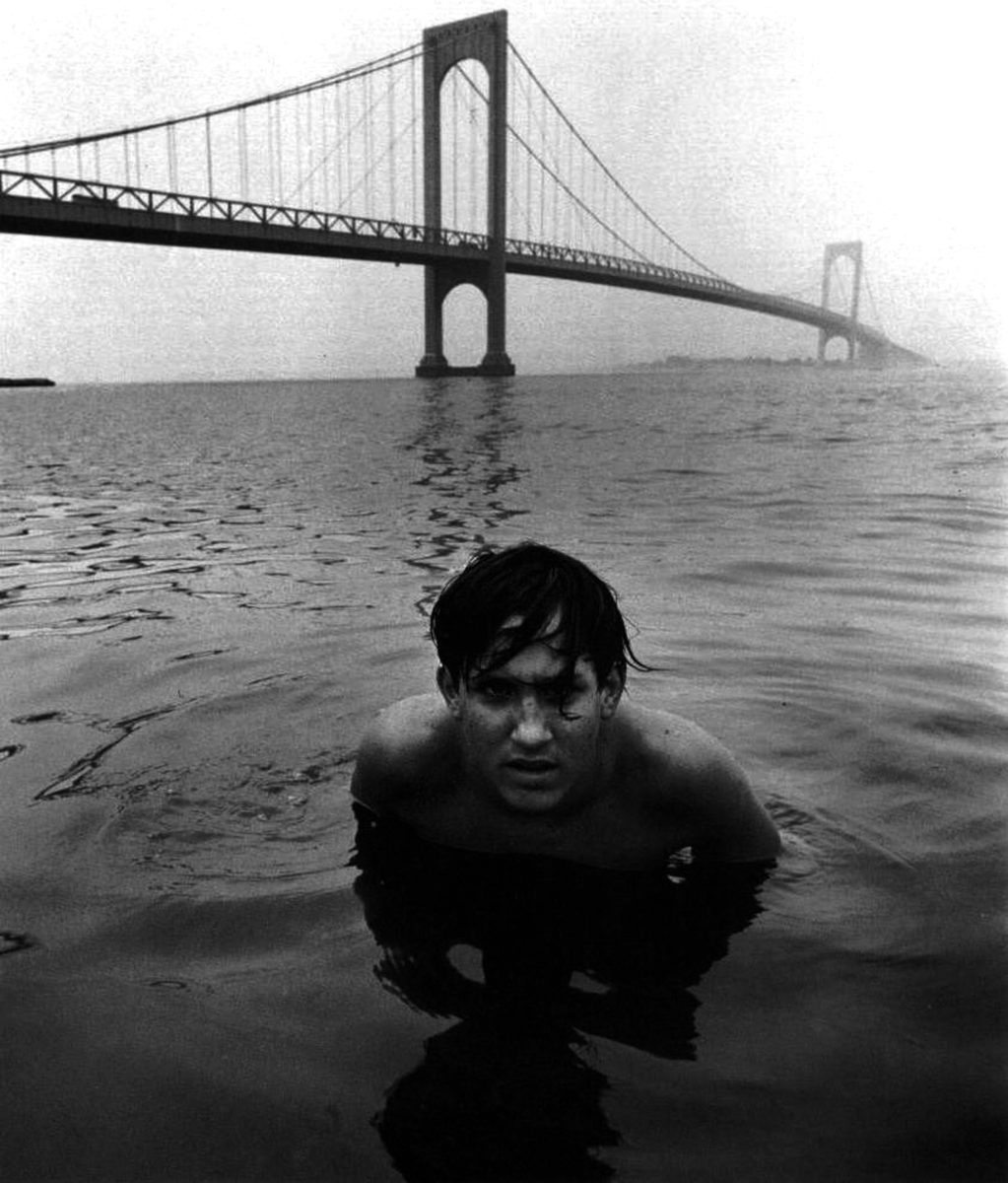 Arthur Tress, Boy in Water under bridge, 1970 with Paci Contemporary