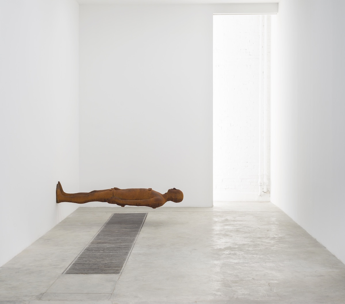 Installation view of Antony Gormley, SUBJECT, Kettle's Yard