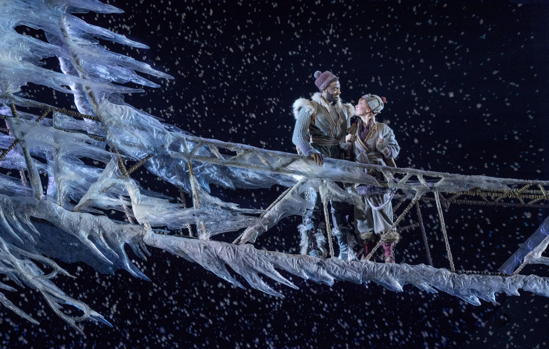 Frozen, St James Theatre Broadway, 2018, photo: Deen Van Meer
