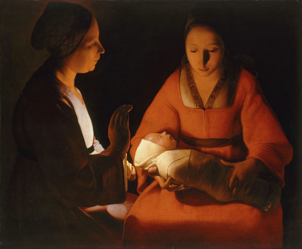 Georges de la Tour, The Newborn, c1640