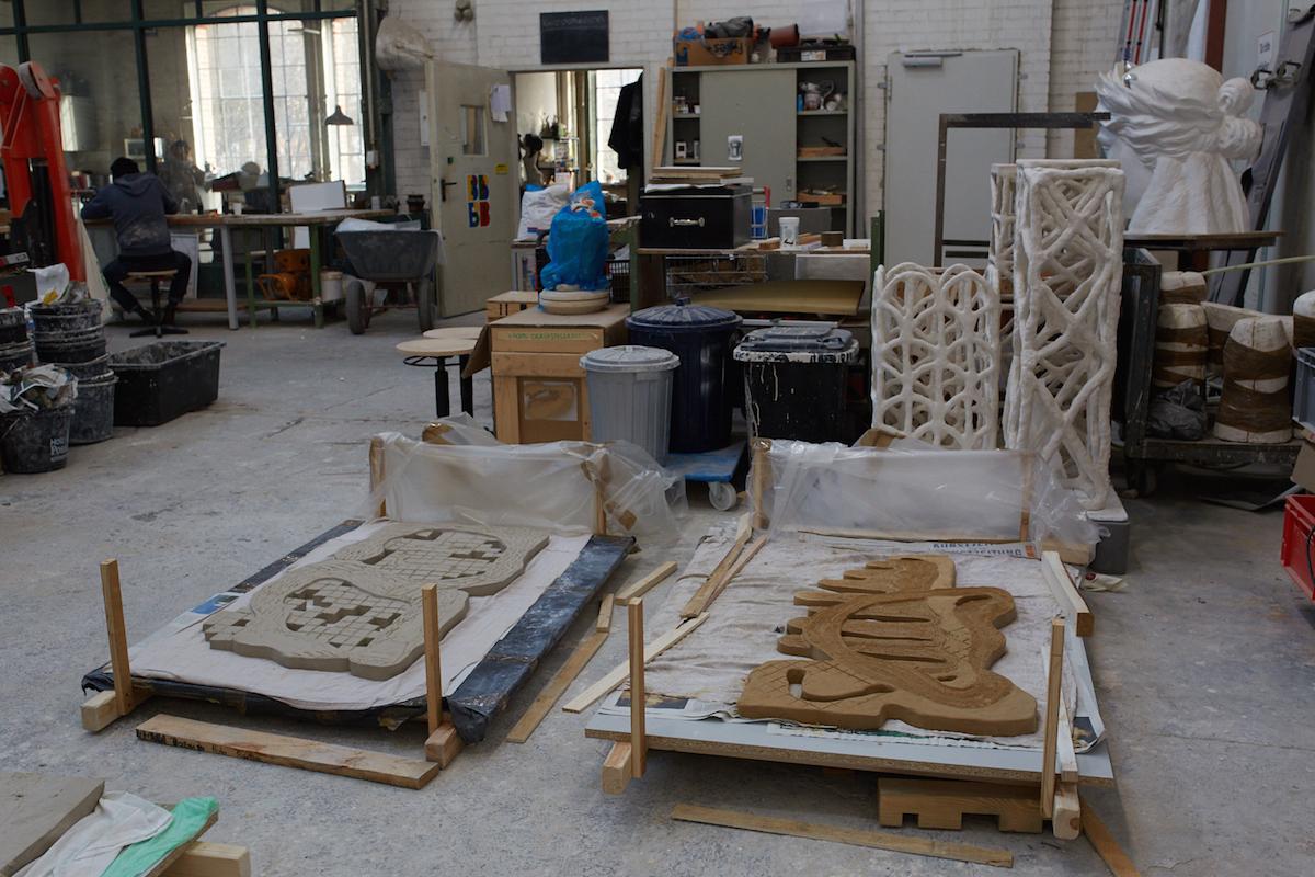 Monika Grabuschnigg Ceramic Art Berlin Studio Visit Elephant Magazine