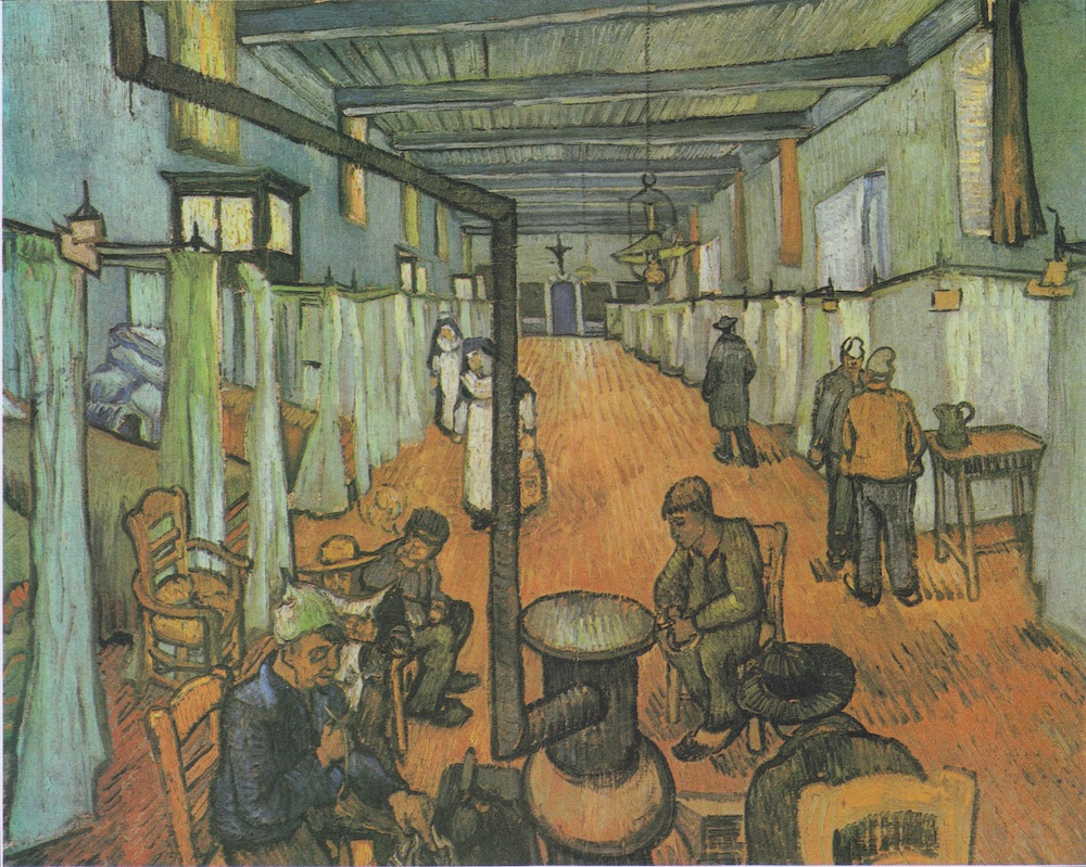 Vincent van Gogh, Dormitory in the Hospital in Arles, 1889