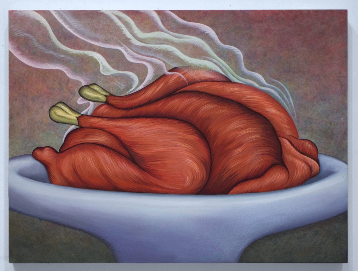 Julie Curtiss, Smoking Turkey, 2016