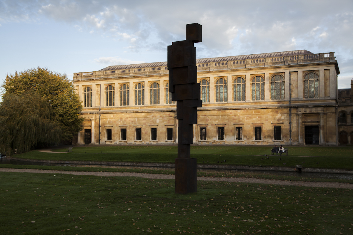 Antony Gormley, Free Object (Trinity College, Cambridge), 2017