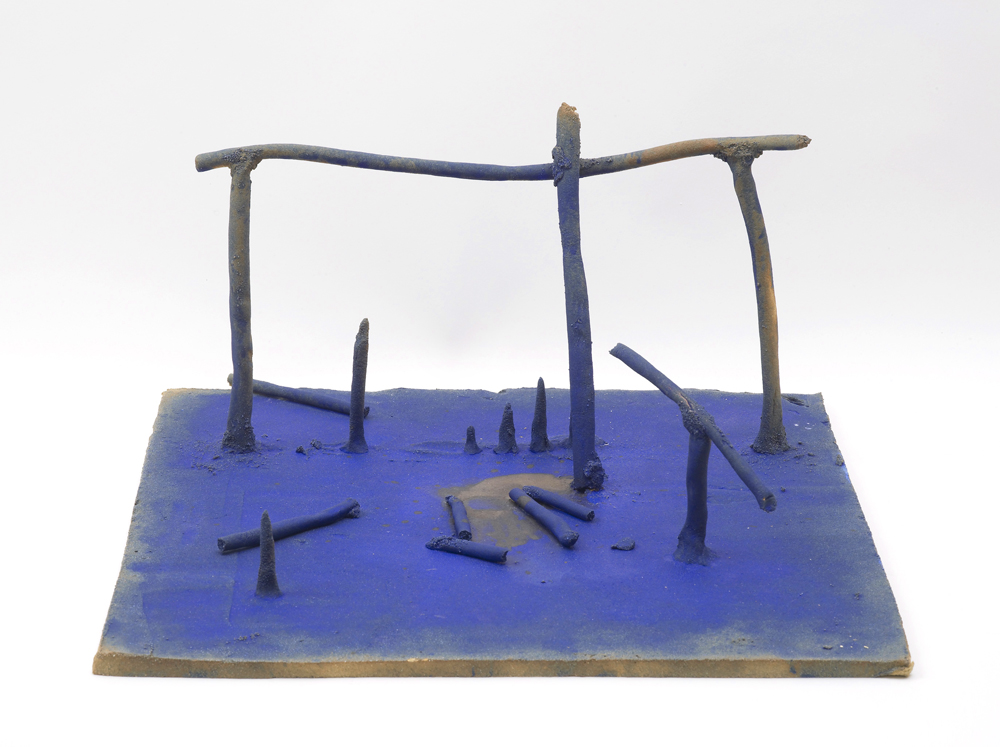 Aaron Angell, Bill Turnbull's Mobile Stabile in Barium Blue, 2014