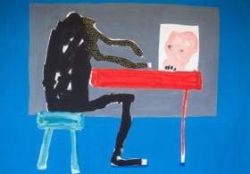 Sans Tete, 2016 Amadou Sanogo painting mixed media Mali